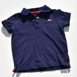 Vineyard Vine (Target) Toddler Navy Blue Polo